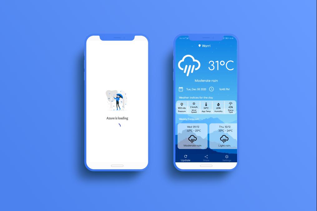 Azure Weather App